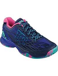 Wilson Kaos W Blue Iris, Zapatillas de Tenis para Mujer