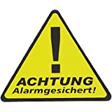 """'Autocollant """"alarme sécurisé Lot de 3"""