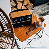 Roberts Stream94i DAB+/DAB/FM Internet Radio with Spotify Connect and Added Bluetooth - Black/Wood