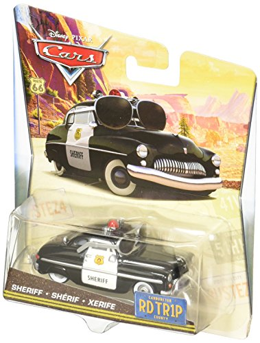 ney Pixar : Cars - Road Trip - Sheriff - Die-Cast Modell ()