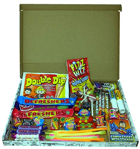 A Quarter Of Letterbox Buster- Old Fashioned Retro Sweets, 450g