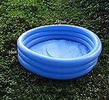 LQHPP Kinderpool Aufblasbare Spielhalle Wasserspielzeug Aufblasbare Badewanne 147 * 33 cm Für Kinder Im Alter Von 0-9 (58 * 12 Zoll)