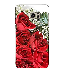 Fuson Designer Back Case Cover for Samsung Galaxy Note 5 :: Samsung Galaxy Note 5 N920G :: Samsung Galaxy Note5 N920T N920A N920I (red Rose Bunch Theme)