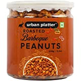 Urban Platter Roasted Barbeque Peanuts, 250g / 8.8oz [Spicy, Roasted Flavoured Peanuts]