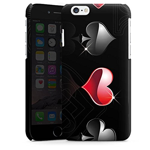 Apple iPhone 5 Housse Étui Silicone Coque Protection C½ur Croix Carreau Cas Premium brillant