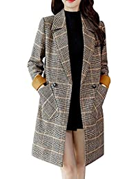 Amazon.it  Cappotto Vintage - Donna  Abbigliamento 931f276009c