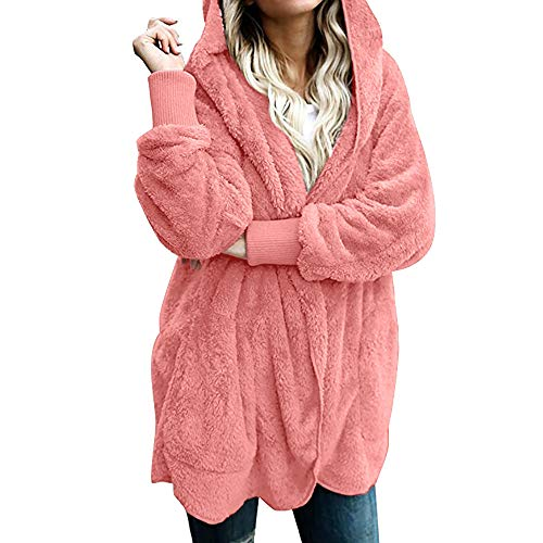 4a5efe4fdb Abrigo Invierno Mujer Chaqueta Cálido Suéter Jersey Mujer Cardigan Mujer  Tallas Grandes Outwear Floral Bolsillos con