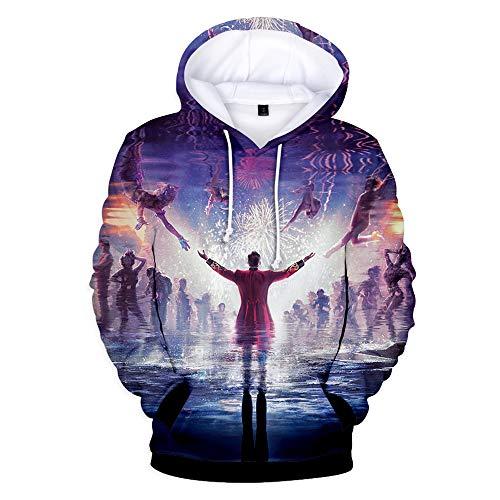 Zhangjianwangluokeji Größte PT Barnum Cosplay Kostüm Leistung Hoodie Showman Party Sweatshirt (XXX-Large, Farbe ()