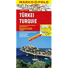 MARCO POLO Länderkarte Türkei 1:800.000 (MARCO POLO Länderkarten)