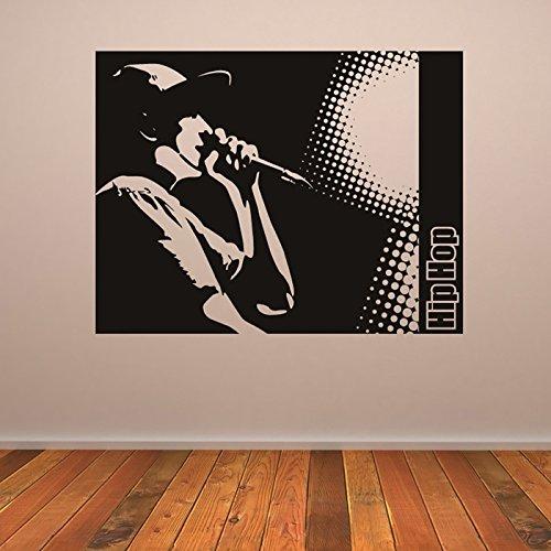 Hip-Hop-Rapper-Platz-Musiker-Band-Logos-Wandaufkleber-Musik-Dekor-Art-Decals-verfgbar-in-5-Gren-und-25-Farben-X-Gro-Wei