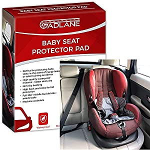 GADLANE Baby Toddler Car Seat Protector Waterproof Potty Training Pad with Non-Slip Backing for Leaky Nappies Accidents and Spills