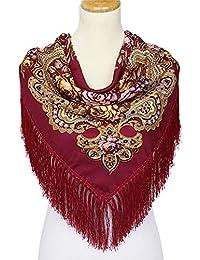 f4427d13038 Amazon.fr   Rouge - Echarpes   Echarpes et foulards   Vêtements