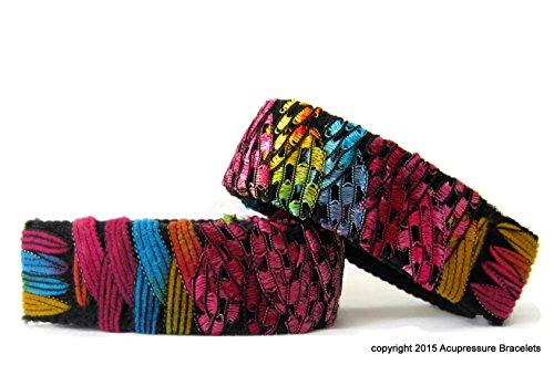 """Akupressur-Armbänder für Übelkeit, Reisekrankheit (Paar) Carnival (mittlere / durchschnittliche Erwachsene 8"""")"""