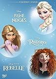 Coffret 3 DVD -  Les héroïnes: La Reine des neiges + Raiponce +...