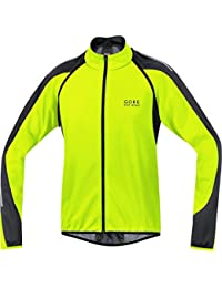 Gore BIKE WEAR, Uomo, Giacca 3 in 1, Ciclismo su strada, WINDSTOPPER Soft Shell, PHANTOM 2.0 Jacket, Taglia XL, Giallo Neon/Nero, JWPHAM