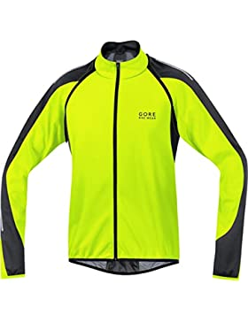 Gore BIKE WEAR, Chaqueta 3 en 1 para Ciclista de Carretera, Hombre, WINDSTOPPER® Soft Shell, PHANTOM 2.0, Talla...