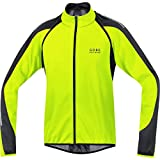Gore Bike Wear Phantom 2.0 Windstopper Soft Shell, Giacca Da Ciclismo Per Uomo, Giallo (Neon Yellow/Black), M