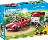 Contient 2 personnages, 2 chevaux, 1 chien, 1 voiture ? remorque et accessoires