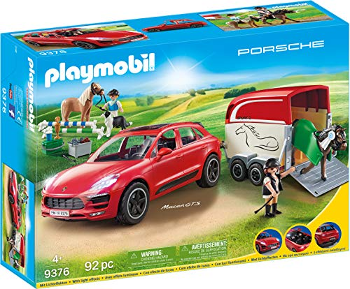 PLAYMOBIL Sports & Action Porsche Macan GTS Efectos