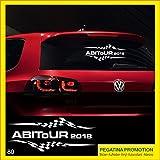 Pegatina Promotion Abi Aufkleber Typ80 Autoaufkleber Abitur 2018