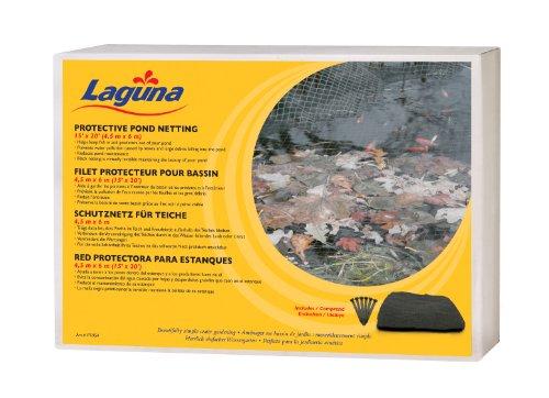 Laguna Filet de Protection pour Étang pour Bassin d'Agrément Noir 4,5 x 6 m