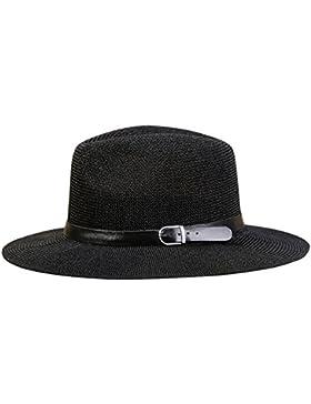AIEOE Sombrero de Paja Gorro Unisex Protección Solar con Ala Ancha Casual de Ocio para Verano Viaje Vacaciones