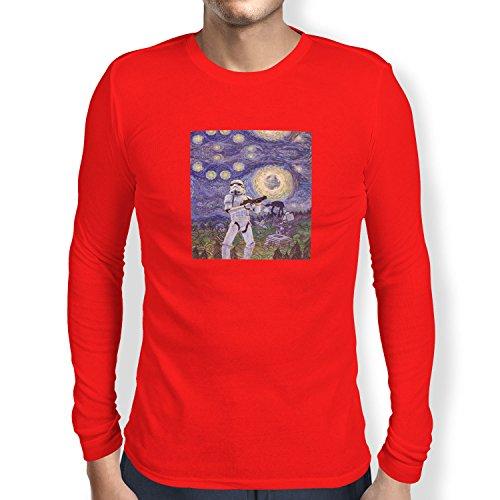 TEXLAB - Endor Nights - Herren Langarm T-Shirt Rot