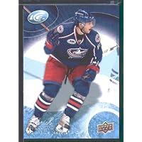 2009 10 Upper Deck Ice Hockey Card # 78 Derick Brassard Blue Jackets