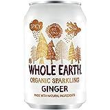 Whole Earth Refresco de Jengibre Sin Azúcar - Paquete de 24 x 330 ml - Total: 7920 ml