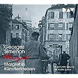Maigret in Künstlerkreisen: Ungekürzte Lesung mit Walter Kreye (4 CDs)
