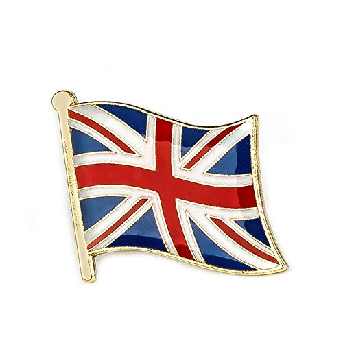 Grande-Bretagne Union Jack Drapeau badge à épingle en métal