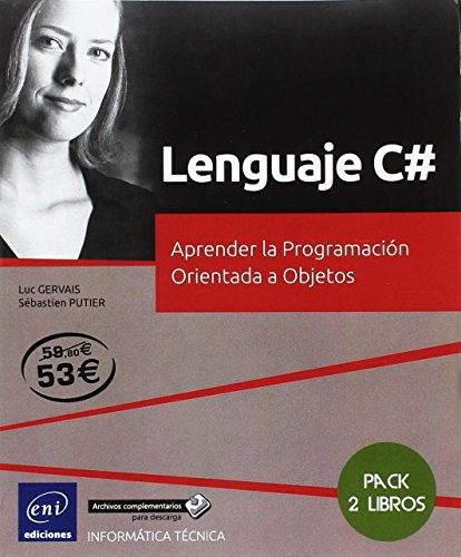 Lenguaje C#. Pack de 2 libros: Aprender la programación orientada a objetos
