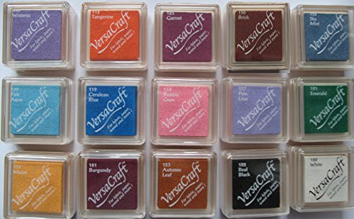 tsukineko-versacraft-small-ink-pad-for-paper-fabric-wood-etc-set-of-15-different-colours-set-two