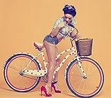 Fahrradaufkleber - Set Punkte Design 2cm 100 Stück Zum selberkleben Wetterfest Fahrradsticker Farbe Weiß