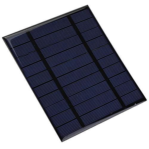Alomejor Solar Panel Charger 2.5W Portable Wasserdichte Faltbare Solar Power Bank USB Ports für Smartphones Tablets Camping Reisen