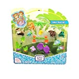 Jungle In My Pocket 15 Piece Playset Style 1 by In My Pocket