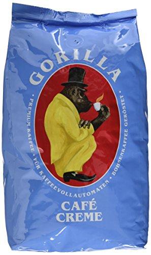 Joerges Gorilla Café Creme, 1 kg (Helle Kaffee Bohnen, Röstung)