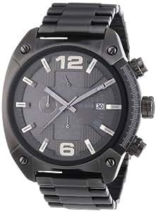 Diesel - DZ4224 - Montre Homme - Quartz Chronographe - Chronomètre - Bracelet Acier Inoxydable Plaqué Gris