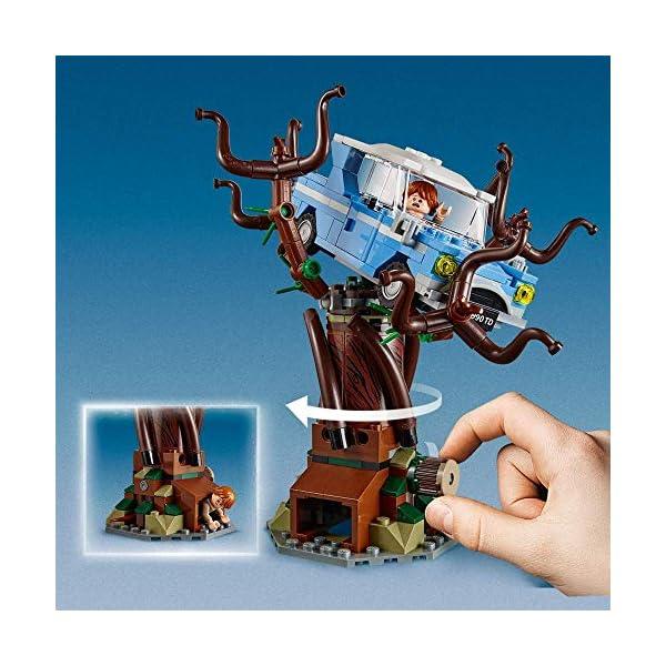 LEGO Harry Potter Il Platano Picchiatore di Hogwarts, Set da Collezione con 6 Minifigure, Ricco di dettagli, Idea Regalo… 5 spesavip
