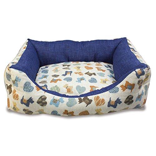 Arquivet 8435117894419 - Cama Perritos Azules 70 x