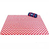 Couvertures de pique-nique Tissu lavable Oxford 200 * 300cm de tissu de couverture de tente de Moistureproof de tapis de pique-nique ( Couleur : Style 1 )