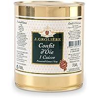 Confit d'Oie du Périgord 1 cuisse 750g, recette artisanale sans colorants ni conservateurs
