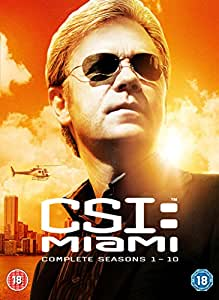 CSI: Miami - Complete Season 1-10 [DVD]