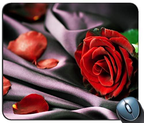 onalisierte MouseMat Rutschfeste Farbe MousePad Rosenblätter Muster ()