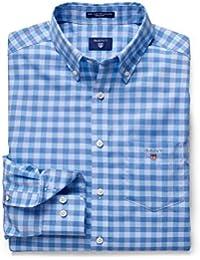 Gant - Chemise Gant bleu à carreaux