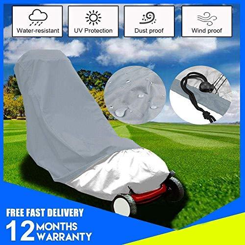 Dxx Cubierta de cortacésped premium 188 * 63.5 cm Impermeable Resistente al polvo Para todo clima Exterior/Interior...