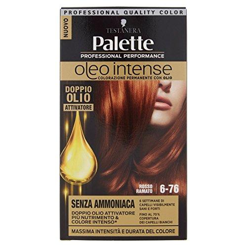 Colore per capelli ad olio