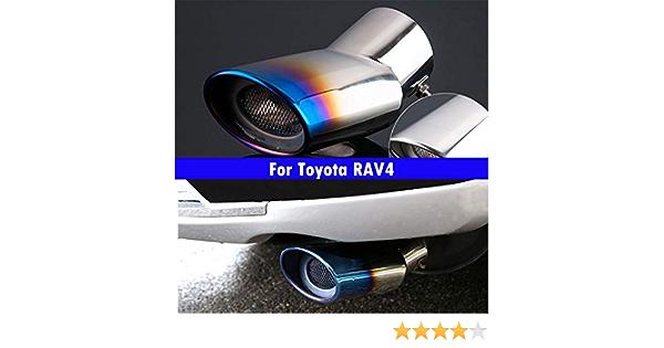 Auspuffrohr Für Rav4 2012 2013 2014 2015 2016 2017 2018 2019 2020 Nicht Bestickt Auto