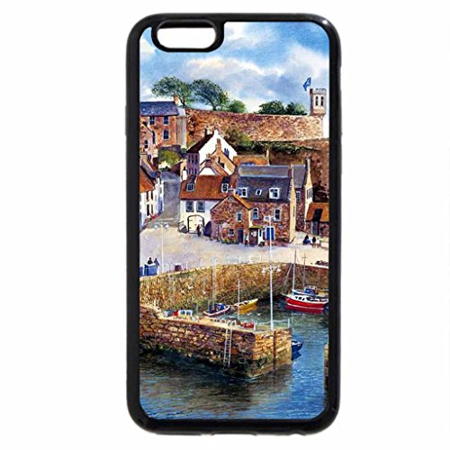 iPhone 6S / iPhone 6 Case (Black) Crail Harbor, Scotland