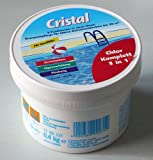 Cristal 1199231 Chlor Komplett 3-in-1, 0,34 kg